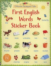 First English Words Sticker Book, Amery Heather