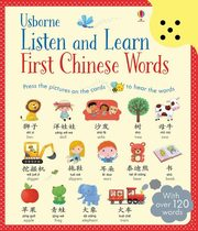 ksiazka tytuł: Listen and learn first Chinese words autor: