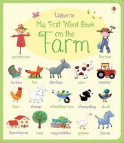 ksiazka tytuł: My first word book on the Farm autor: