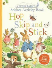 ksiazka tytuł: Peter Rabbit Hop Skip Stick Sticker Activity autor: Potter Beatrix