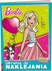Barbie Ubrania do naklejania,